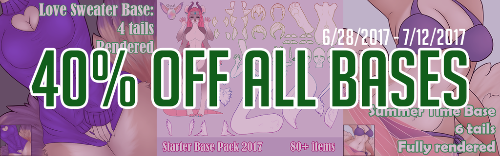 Most recent image: 40% OFF ALL BASES ON SELLFY!