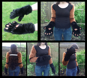 Tolna Sleeves and Handpaws