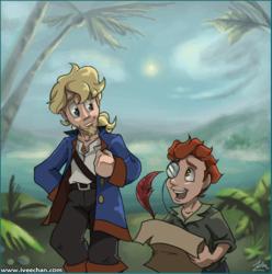 Pirate and Cartographer