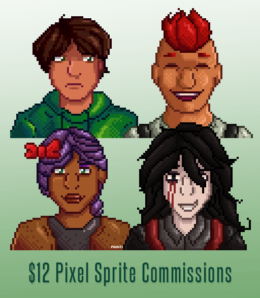 Most recent image: $12 Sprite Commissions