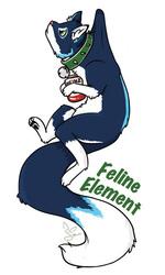 Feline Element Badge - AC2013