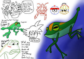 Mugi Draws Froggy