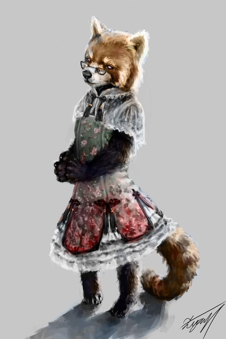 Just a Qi Lolita red panda.