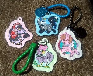 Keyring Badges - $20