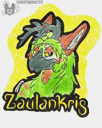 Zaulankris Badge