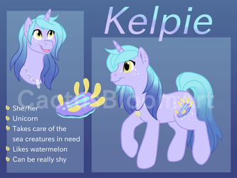 Commission: Kelpie Ref