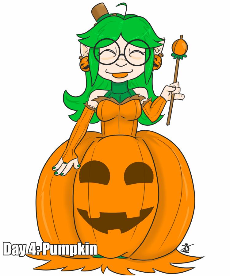 30 Day Halloween Costume Challenge - Pumpkin