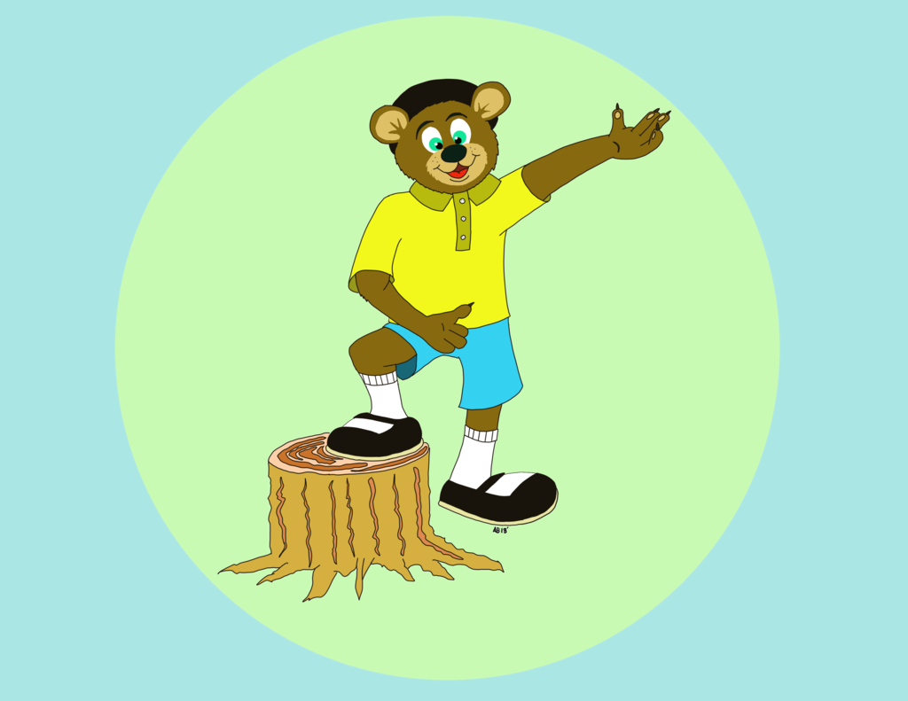 Al Bear 2018 version no background