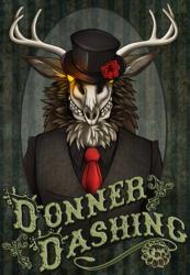~ FC 2015 Con Badge ~ Donner Dashing