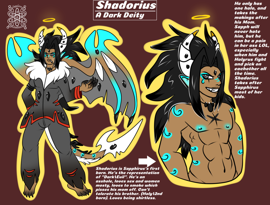 Shadorius, #1 born (Dark) +Ref+