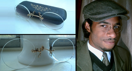Pince-Nez Eyeglasses