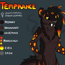 Temprance Reference