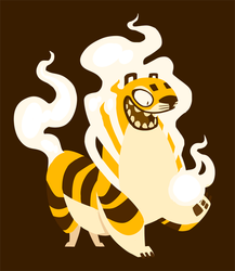Burning Tiger