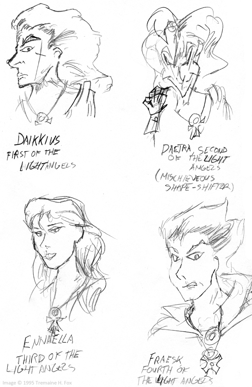 "(1995) ""Dragon Hunter"" Cast, Page 2"