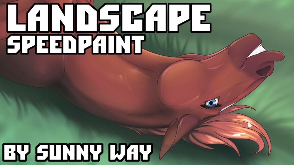 Landscape - Speedpaint