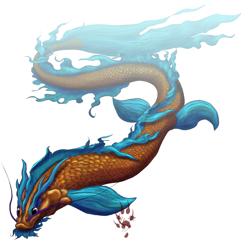 Dragon fish weasyl for Dragon koi fish