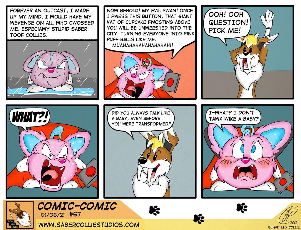 Comic-Comic #67 (1/6/21)