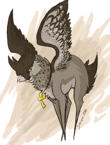 Artfight: Owl Priest