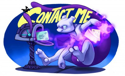 Contact Me - artwork by NinjaJamal