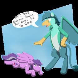 Friends don't let friends be ponies