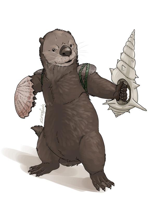 Sea Otter Knight