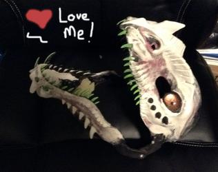 Dragon Mask WIP