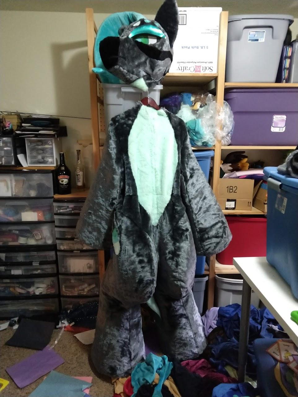 Pony OC fursuit