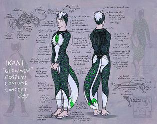 Ikani Cosplay Costume Concept Commission