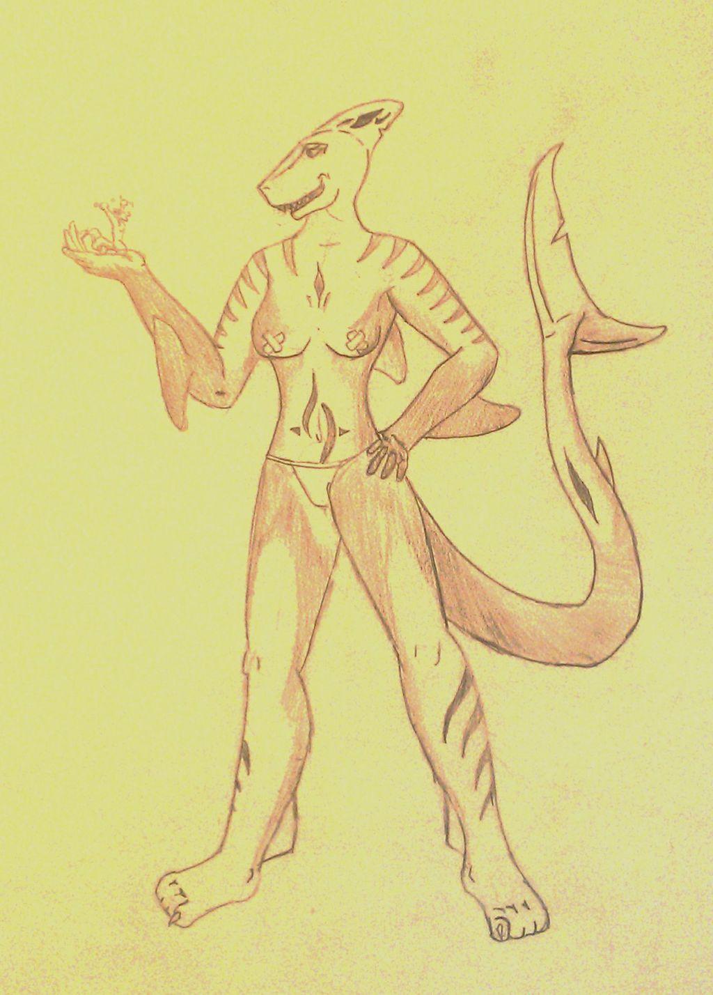 Most recent image: My shark girl Leona