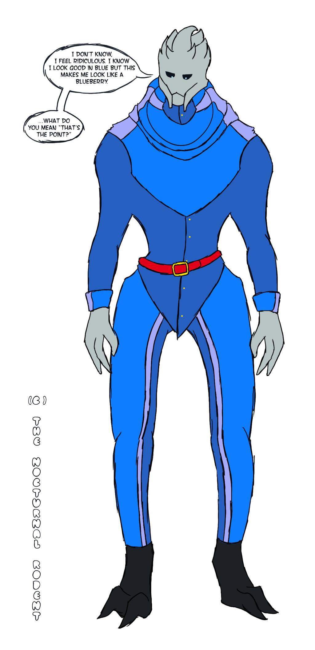 Garrus' Violet Suit Reference