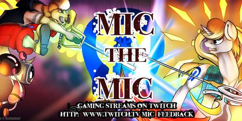 Mic The Mic Gaming Streams Banner