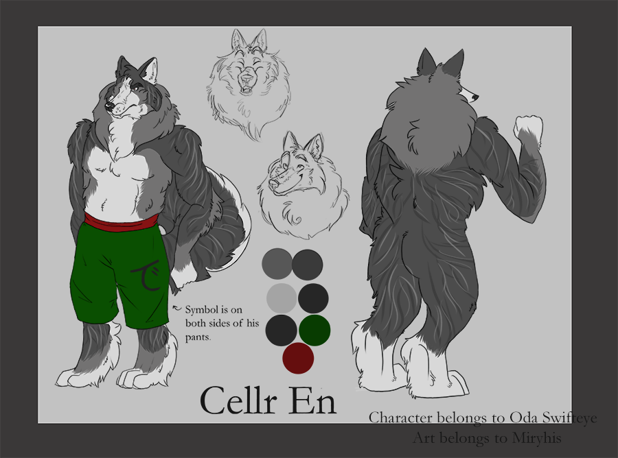 Commission: Cellr En Reference Sheet
