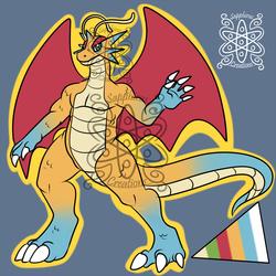 Male Dragonmence +Design+ (SOLD)