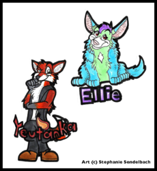 Ellie and Yeutanka Badges