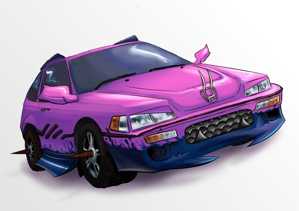 Horrible Honda Vers 2 - Commission
