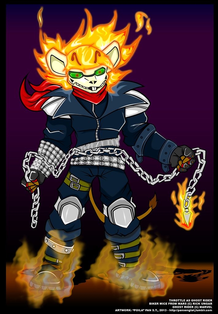Biker Mouse X Ghost Rider