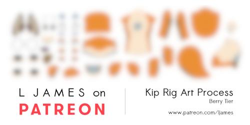 [Patreon] Kip Rig Art Process