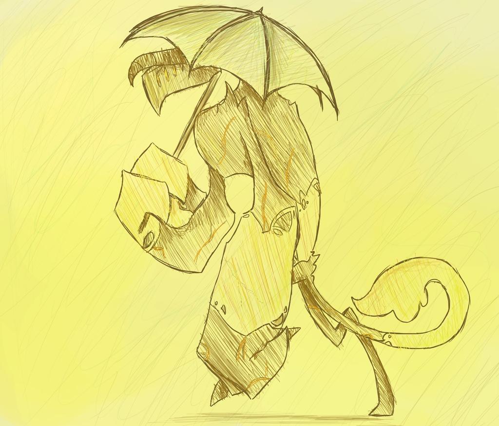 Rainy Days sketch