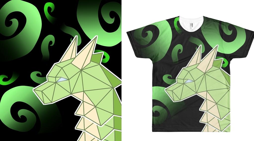 Most recent image: Geometric Dragon Shirt