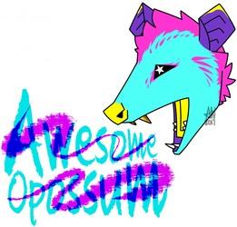 Awesome Opossum!
