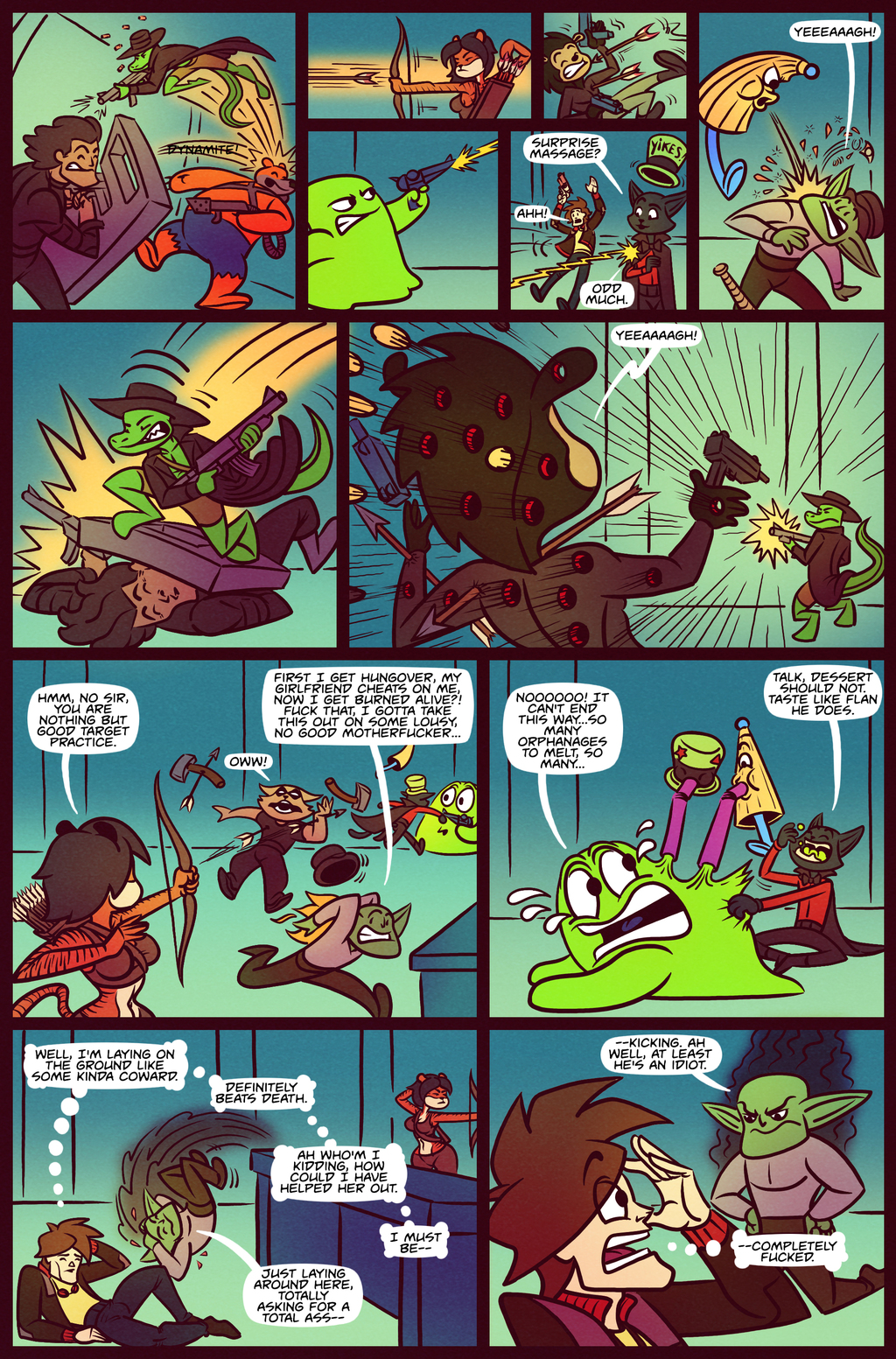 Death Valet Chapter 2 Page 22