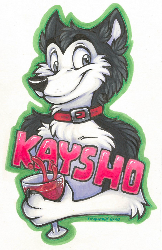 Kaysho Badge (Commission)