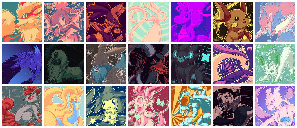 Palette Pokemon [Compilation]