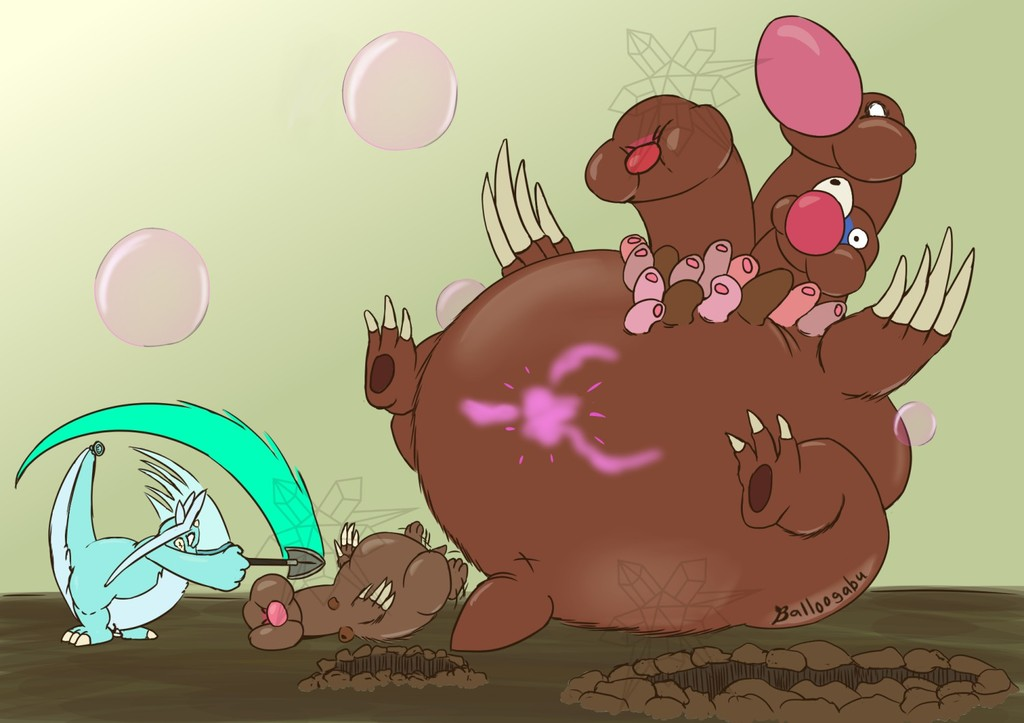 Most recent image: Dugtrio Rooting