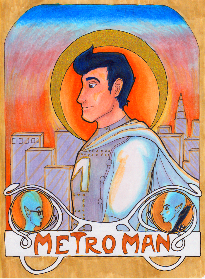 Most recent image: Metro Man - Art Nouveau