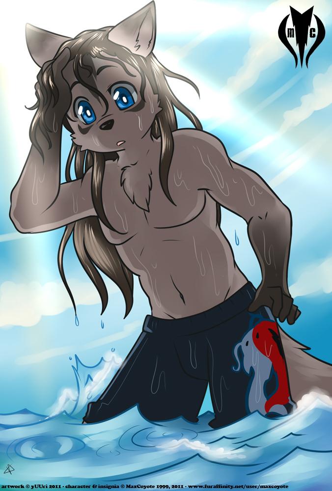 [COM] Ocean Swim (by Yuuri)