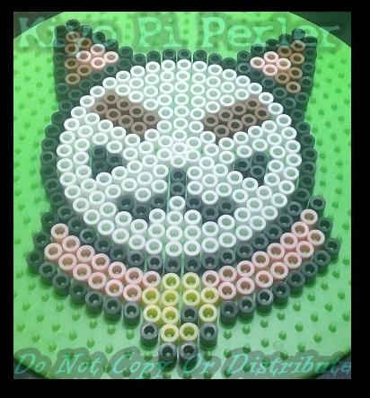 Puppycat Badge (Original Pattern - Premelt)
