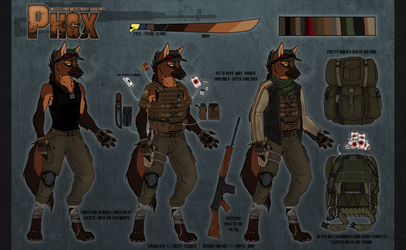 Phox Reference Sheet (Clothed)