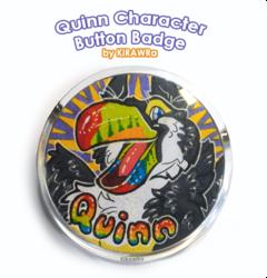 Button Badge: Quinn