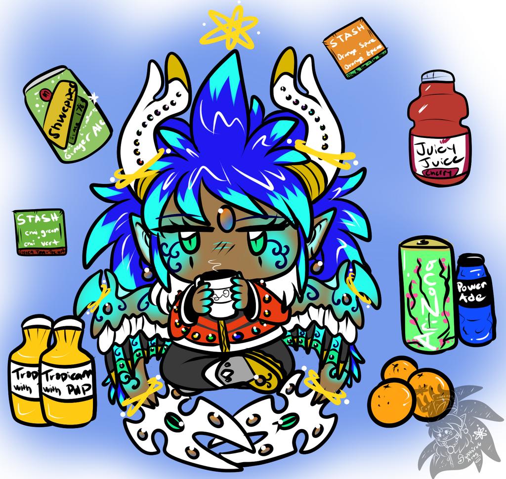 Sapphirus's fav Drinks n Fruit